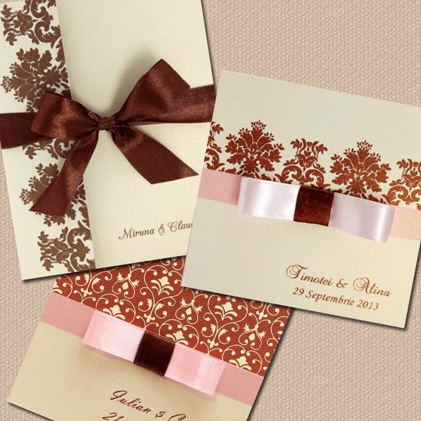 Invitatie de nunta Delicii si Contraste