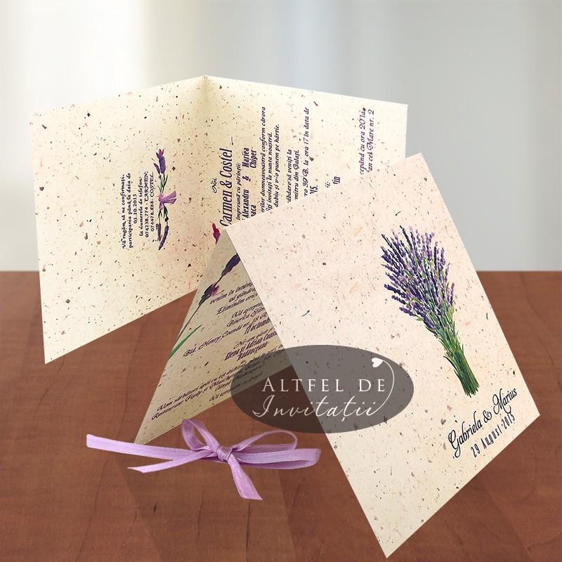 Invitatii nunta Levantica