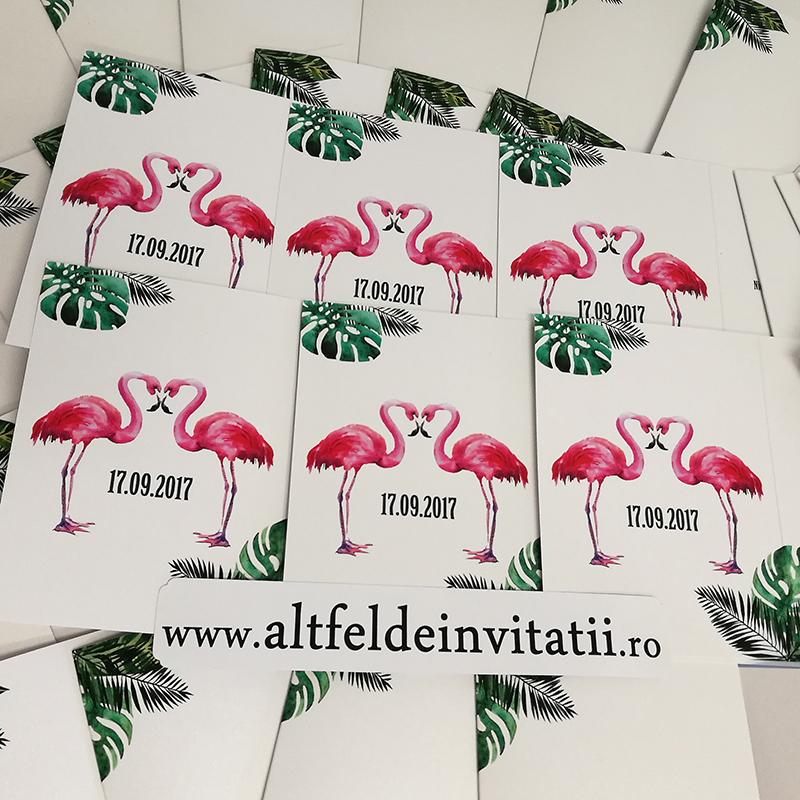Invitatii de nunta Padure tropicala