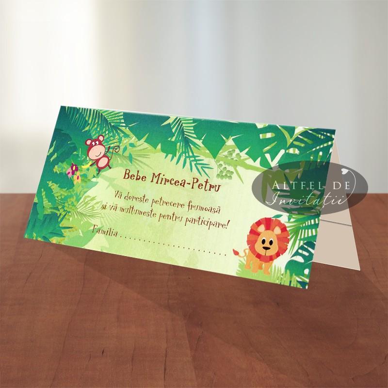 Place carduri personalizate pentru botez