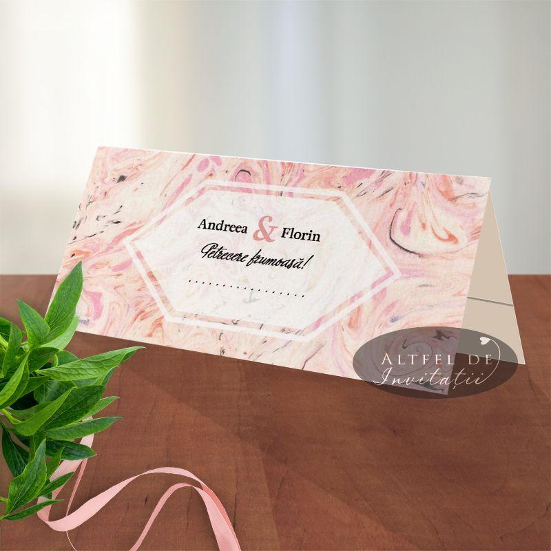 Place carduri personalizate pentru nunta