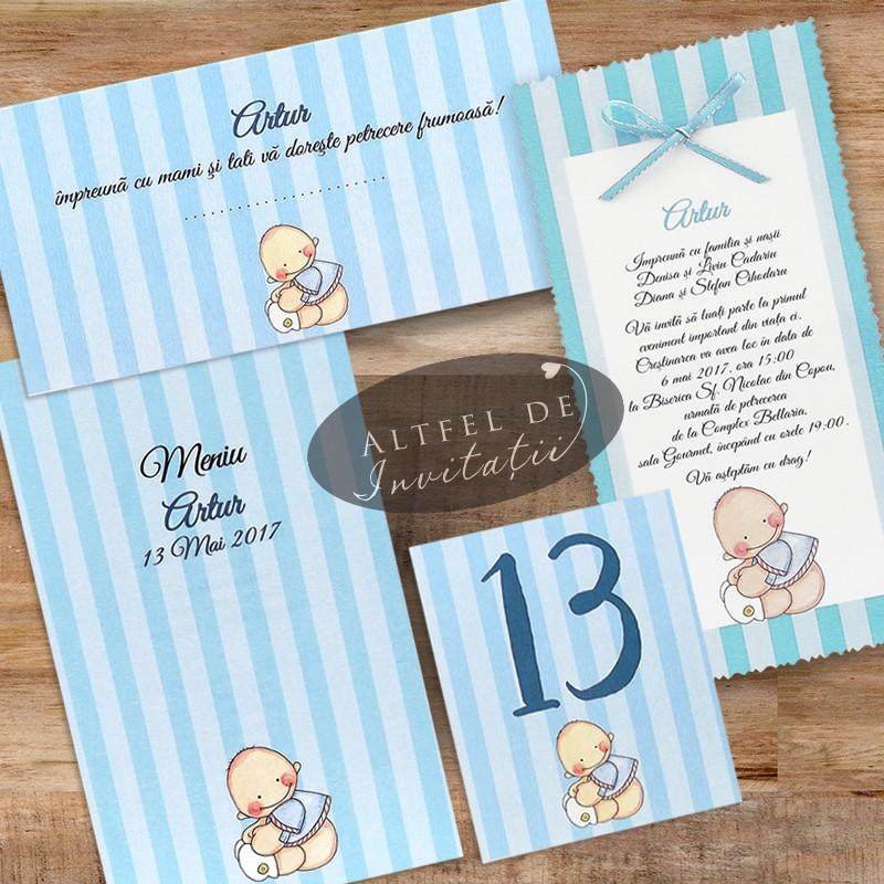 Seturi de botez personalizate pentru baietei