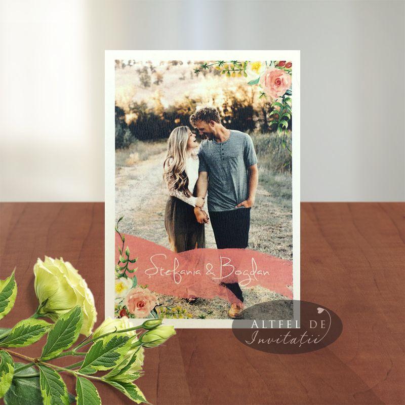 Invitatie de nunta personalizate