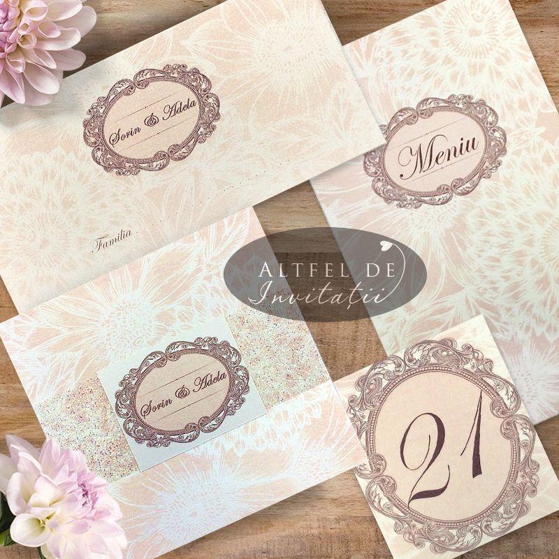 Papetarie de nunta personalizata