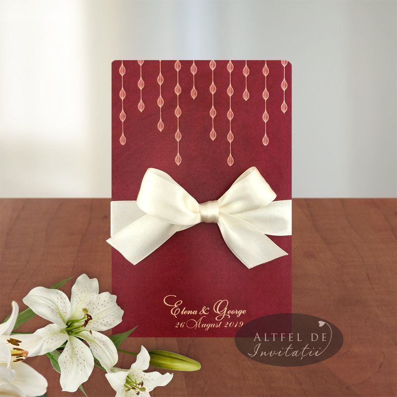 Invitatiii de nunta personalizate