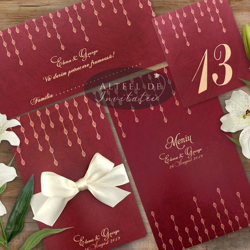 Seturi complete de papetarie pentur nunta