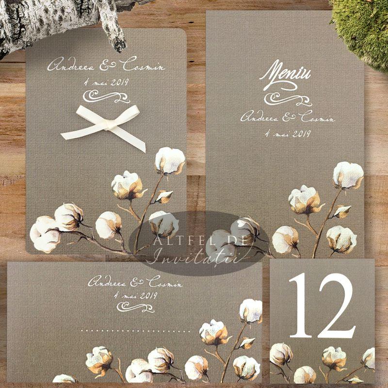 Set complet papetarie pentru nunta