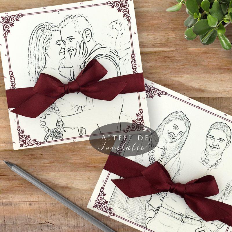 Invitatii de nunta personalizate