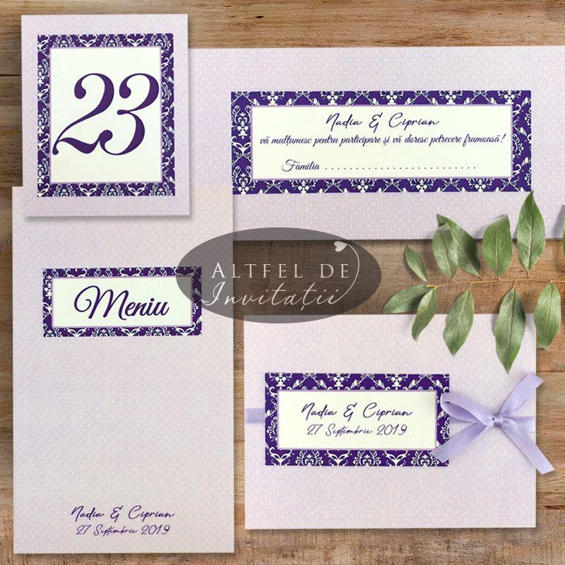 Papetarie pentru nunta personalizata