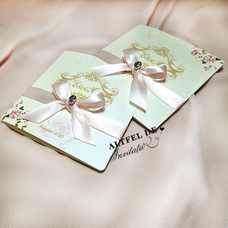 Invitatie de nunta personalizat