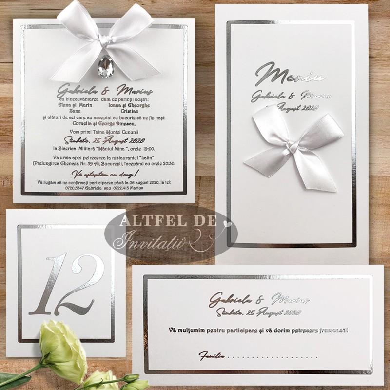 Set complet de papetarie pentru nunta
